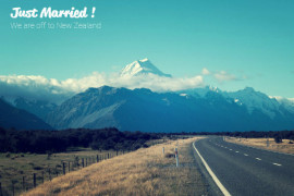 An image of Mt Cook, perfect honeymoon spot