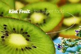 An image of kiwifruit that has been cut in half