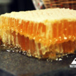 raw honey on a tile